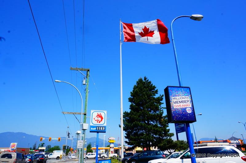 カナダ 国旗