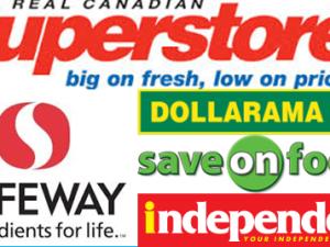 カナダのスーパーマーケット