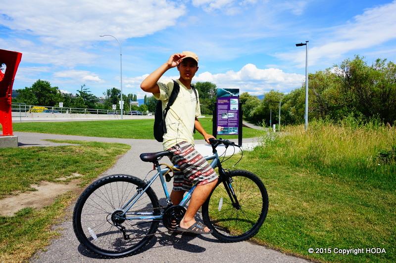 カナダ 自転車