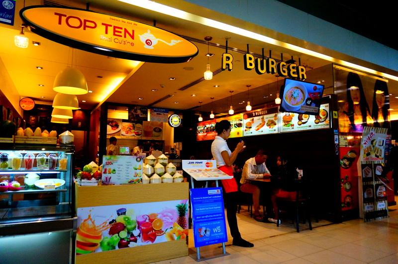 スワンナプーム 国際空港 日本食
