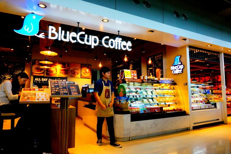 「BlueCup Coffee」