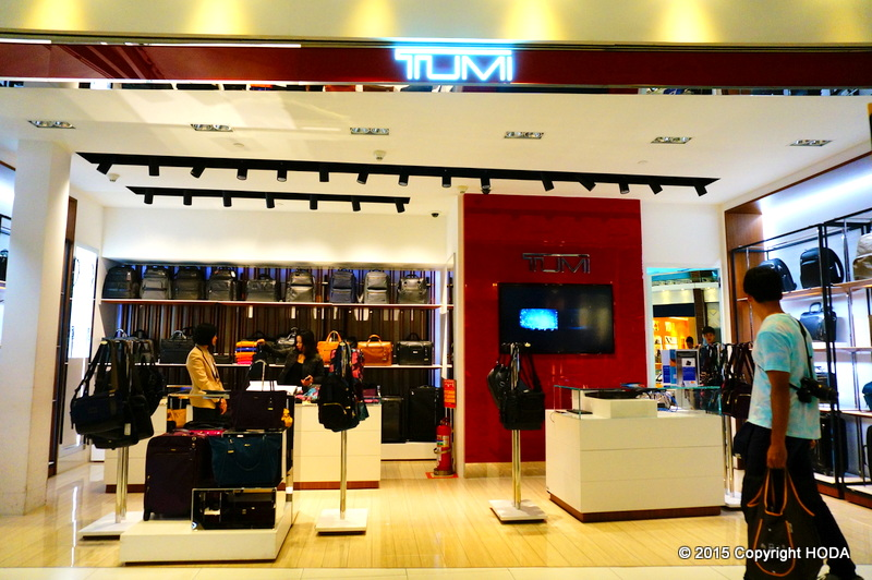 スワンナプーム国際空港 免税店 TOMI