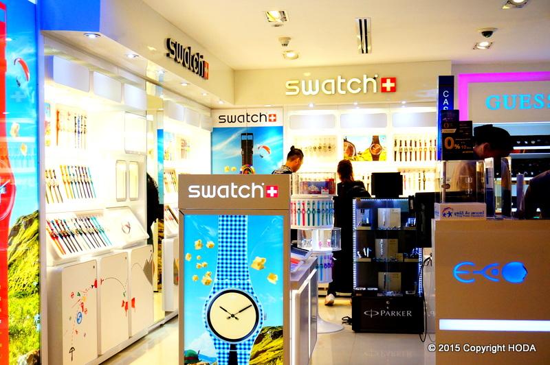 スワンナプーム国際空港 SWATCH スウォッチ