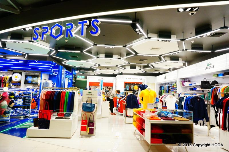 スワンナプーム国際空港 免税店 スポーツ