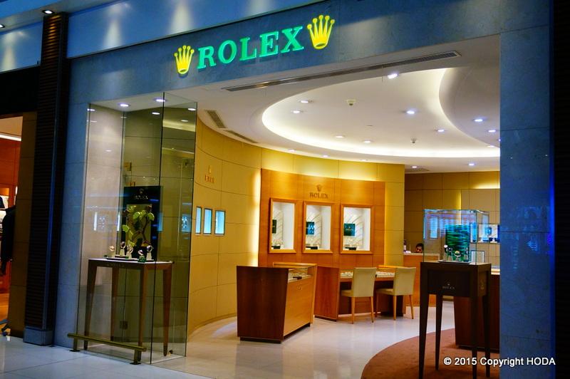 スワンナプーム国際空港 ROLEX ロレックス