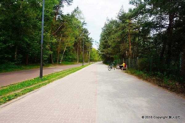グダニスク サイクリングロード
