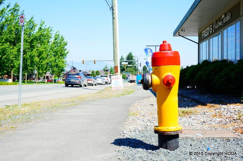 チリワックの消火栓