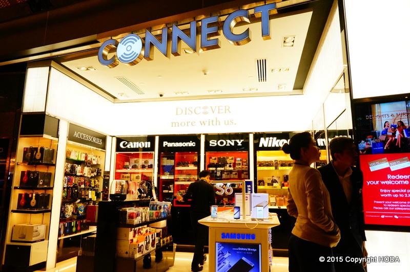 スワンナプーム国際空港 免税店  connect