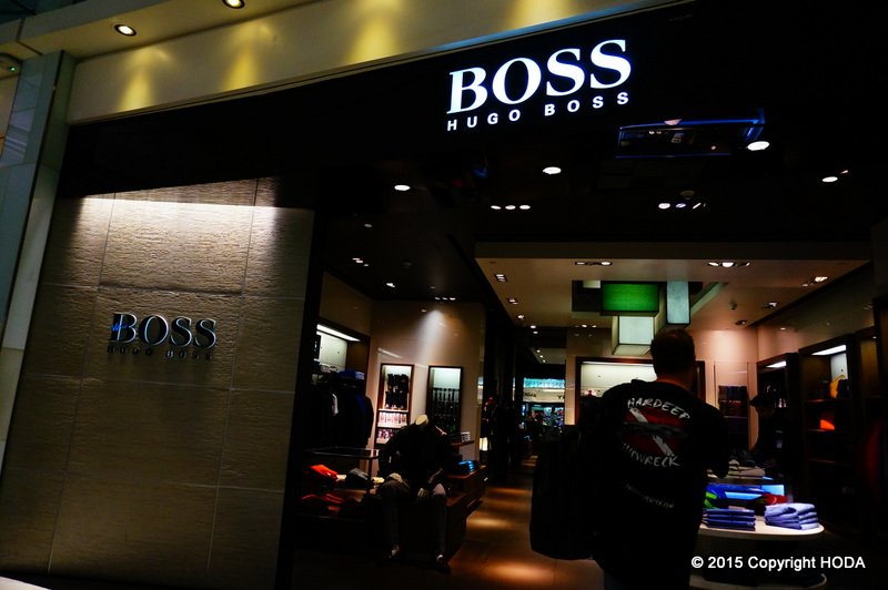 スワンナプーム国際空港 免税店 BOSS