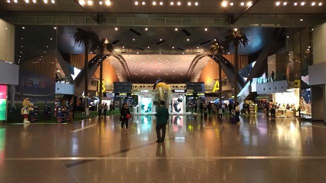 カタール ドーハ 空港 wifi