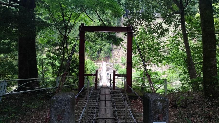 八木の吊橋