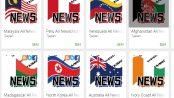 とにかく世界のニュースのアプリを100個以上作りまくったよ!